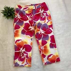 🌸NEW YORK & CO - Floral pants🌸